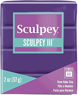 product image for Polyform Sculpey III Polymer Clay, 2-Ounce, Purple