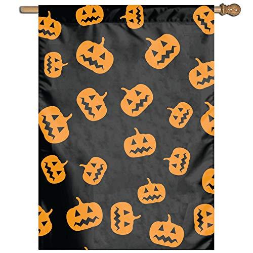 XIAOTT Pumpkins of Halloween Garden Flag Holiday Decoration 1 Sided Flag 27 x 37 Inch