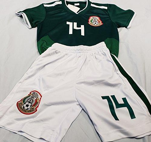 """Sport New!""""Chicharito"""" 2018 National Team Generic Replica Kids M (5-6 Years)"""