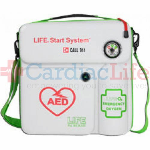 LIFE Start System Oxygen and AED Carry Case Combo Philips - LIFE-O2-LSS-Philips by LIFE Corporation