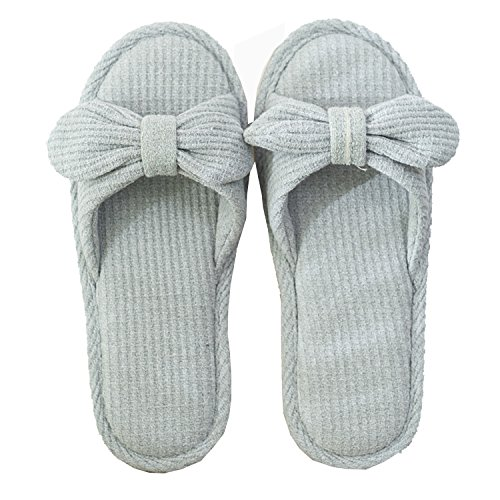 Soft a Unisex Green Four Slippers Beautiful Comfort Sole Slipper Indoor xsby Season Cute Bedroom 46nxq14Aw