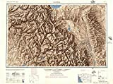YellowMaps Mariposa CA topo map, 1:250000