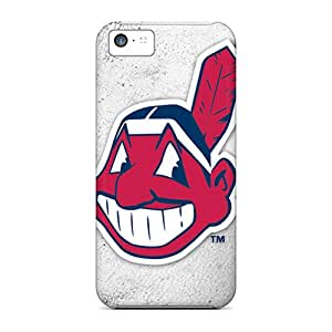 High Quality Mobile Case For Iphone 5c With Provide Private Custom Attractive Cleveland Indians Image Marycase88