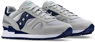 Saucony Running Shoes for Men, Size 12 US, Grey & Blue - S2108-640