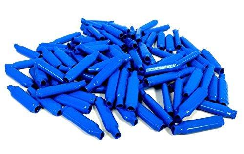 (500 Pieces Blue Gel Wet B Connectors Telephone Alarm Wire Crimp Beanies Splice)