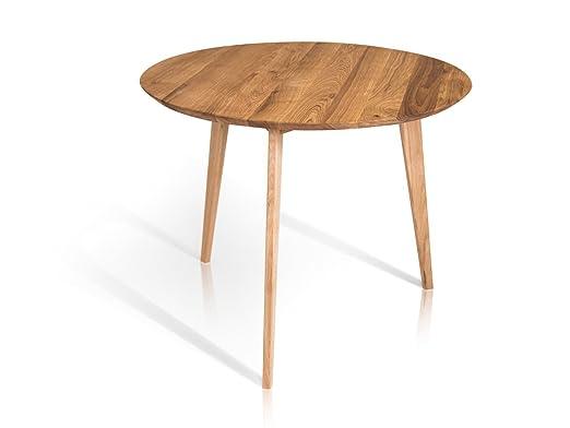 Austin mesa de comedor redonda de 90 cm, Wildeiche: Amazon.es: Hogar