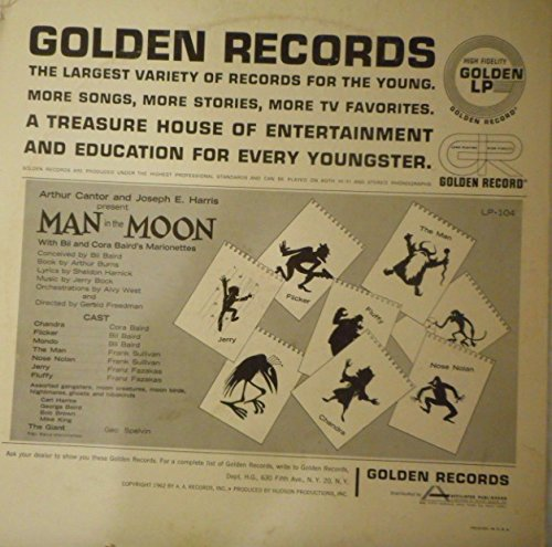 Bil Cora Baird Marionettes Man In The Moon Amazoncom Music