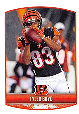 2018 Panini NFL Stickers Collection  93 Tyler Boyd Cincinnati Bengals  Official Football Sticker 2f661246a