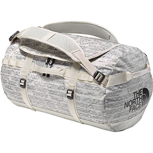 - The North Face Base Camp Duffel Moonlight Ivory Scratch Print Moonlight Ivory