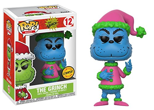 How the Grinch Stole Christmas! Santa Grinch Chase Ver. Pop! Books Vinyl Figure -