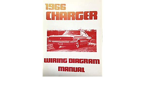 1966 DODGE CHARGER FACTORY ELECTRICAL WIRING DIAGRAMS