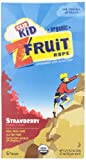 Clif Kids Twisted Fruit Strawberry, Organic, 6 ct