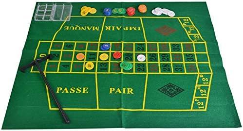 NOWAYTOSTART Rueda De Ruleta, Juego De Ruleta para Juegos De Casino Juego De Beber Ruleta para Diversión Familiar: Amazon.es: Deportes y aire libre