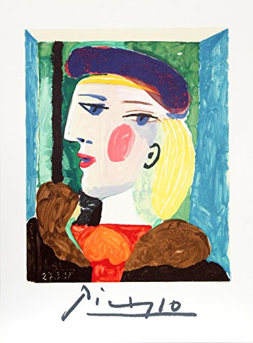 Picasso Original Lithograph - Femme Profile (Marie-Therese Walter)