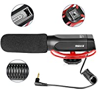 Meike MK-MP2 Camera Shotgun Microphone Uni-Directional Cardioid Condenser Photography Interview Video Mic For Canon Nikon Sony Digital Camera Camcorder with Standard 3.5mm Port from Chengdu Voking Ltd