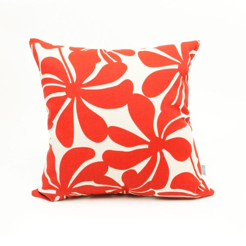 Majestic Home Goods Red Plantation Pillow, Large