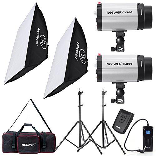 Neewer¨ 600W Photo Studio Monolight Strobe Flash Light Softbox Lighting Kit with Carrying Bag for Video Shooting