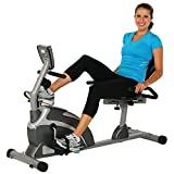 Exerpeutic 900XL 300 lbs. Weight Capacity Recumbent Exercise Bike with...