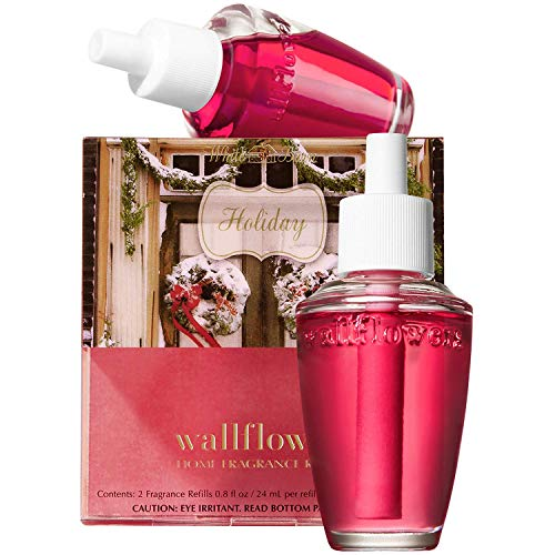 Bath & Body Works Holiday Wallflowers Home Fragrance Refills, 2-Pack (1.6 fl oz total)