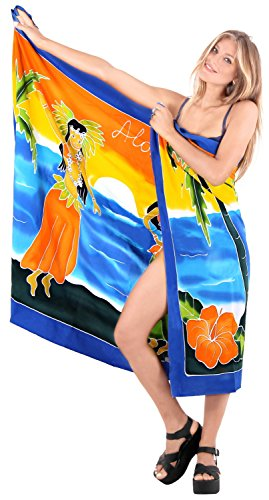 bagno usura bagno LEELA piscina coprire sarong avvolgente gonna donne costumi usura bagno pareo beachwear Nero resort o595 involucro di da da costume LA 5fqU7wU