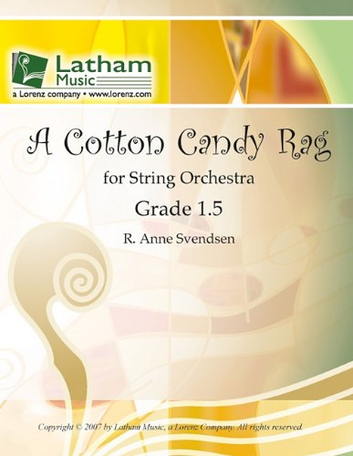 Read Online A Cotton Candy Rag for String Orchestra PDF