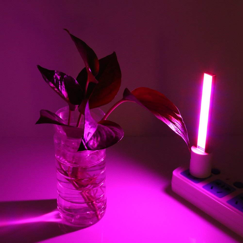 MLMLH LED Grow Lamp-5V USB Grow Light Indoor,Hydroponic Plant Grow Light,Flowering Vegs Potted Plants Growth Lamp New,100LM 27LED ,4.5W//2.5W //70LM Size : 12cm 14LED