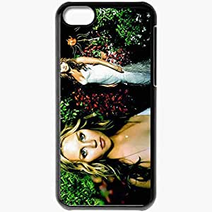 Personalized iPhone 5C Cell phone Case/Cover Skin Amanda bynes movies Black