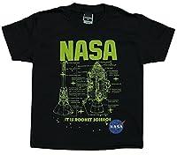 Unisex Kids 4-20 NASA Apollo Module It Is Rocket Science Youth T-Shirt