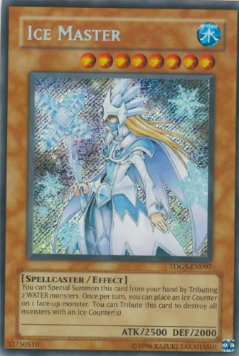 Yu-Gi-Oh! - Ice Master (TDGS-EN097) - The Duelist Genesis - Unlimited Edition - Secret Rare