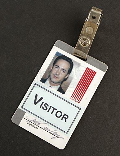 Firsthand Movie Prop - Disclosure - John Conley Jr.'s (Joe Urla) Digicom Vistors Badge - Authentic