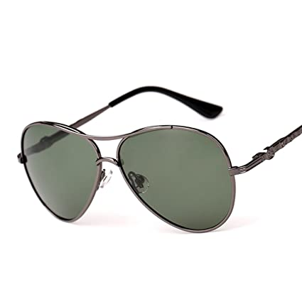 1b20643aea Amazon.com   Panda Eye Shaped Frame Child Aviator Metal Polarized Sunglasses  Flexible Frame UV Proof Spectacles   Sports   Outdoors