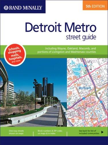 Download Rand McNally Detroit Metro, Michigan: Street Guide (Rand Mcnally Street Guide) PDF