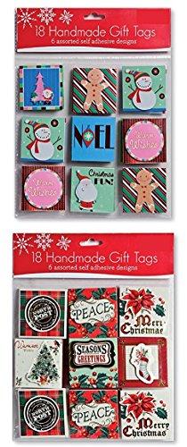 Assorted Handmade Christmas Embellished Stockings