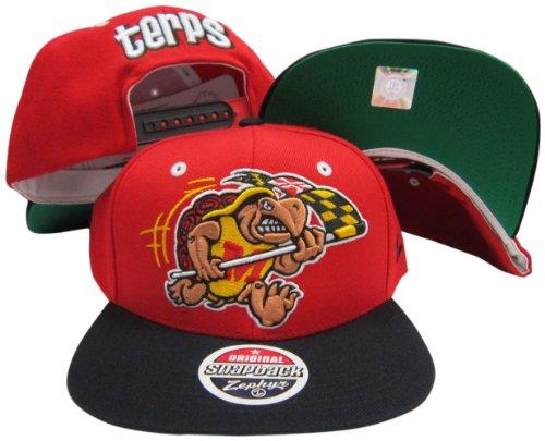 Maryland Terrapins Adjustable Snapback Hat / Cap (Hat Zephyr Maryland)