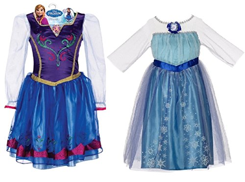 Disney Frozen Elsa and Anna Dress
