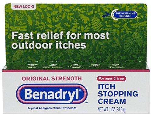 Benadryl Cream Original Strength, 1 oz