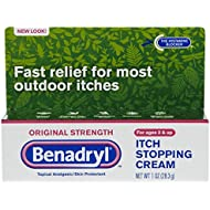 Benadryl Cream Original Strength, 1 oz
