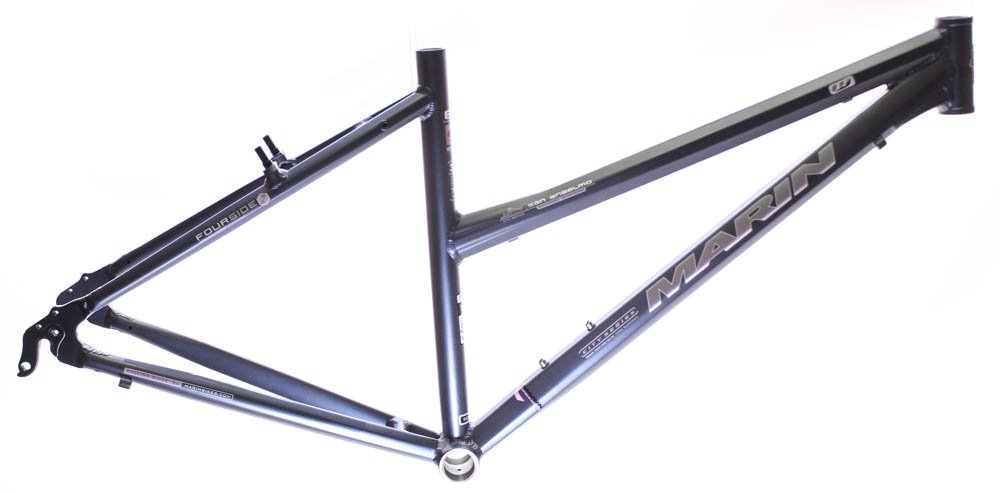 15'' MARIN SAN ANSELMO Women's Hybrid City 700c Bike Frame Grey Aluminum NOS NEW by Marin (Image #1)