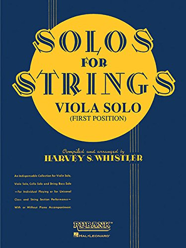 (Solos For Strings - Viola Solo (First Position))
