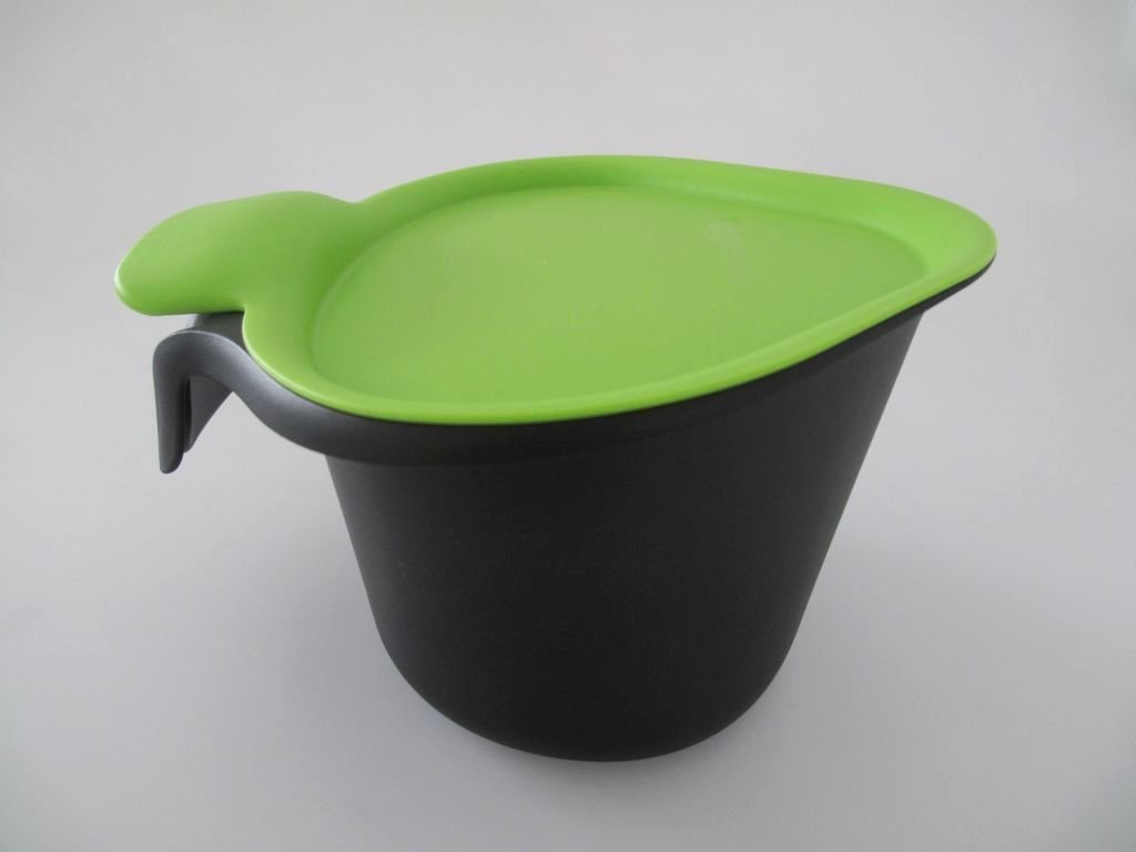 Tupperware G01 Chop Collector 2, 5 L Black Green - 51RXZo 2BFRlL - Tupperware G01 Chop Collector 2, 5 L Black Green