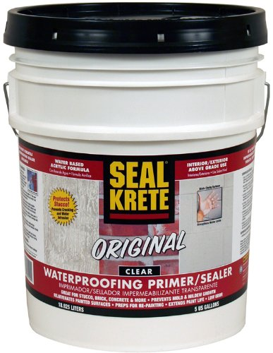 Seal Krete 10005 Original All-Purpose Water proofer, 5-Gallon Pail