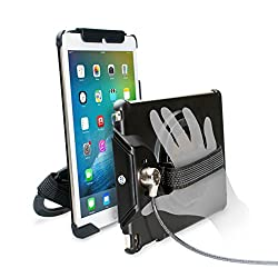 Cta Digital Anti-theft Case With Built-in Grip Stand For Ipad Air (1-2), Ipad (2017), & Ipad Pro 9.7 Pad-acga