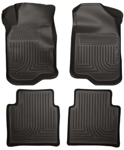 Husky Liners Front & 2nd Seat Floor Liners Fits 08-12 Mal...