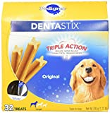 PEDIGREE DENTASTIX Large Dog Chew Treats, Original, 32 Treats