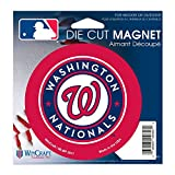 Washington Nationals Official MLB 4.5 inch x 6 inch Car Magnet by Wincraft