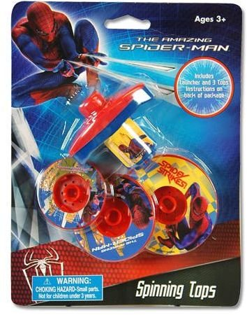 Spiderman Spinning Stacking Tops B004C1ARG0