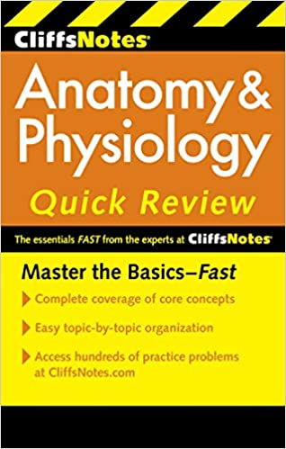 CliffsNotes Anatomy & Physiology Quick Review, 2nd Edition (Cliffs ...