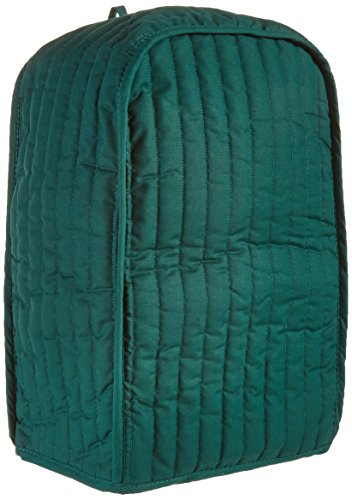 Ritz Quilted Stand Mixer/Coffee Maker Appliance Cover, Dark Green