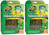 Zoo Med All Natural Reptile Terrarium Moss Substrate (2 Pack of 10 Gallons)
