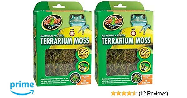 Amazon Com Zoo Med All Natural Reptile Terrarium Moss Substrate 2
